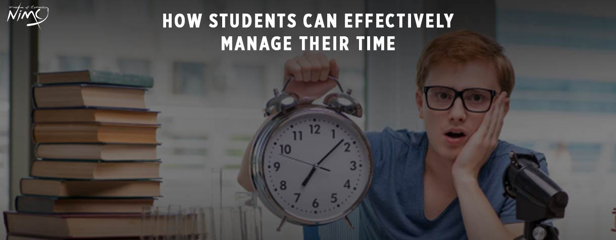 How Students Can Effectively Manage Their Time