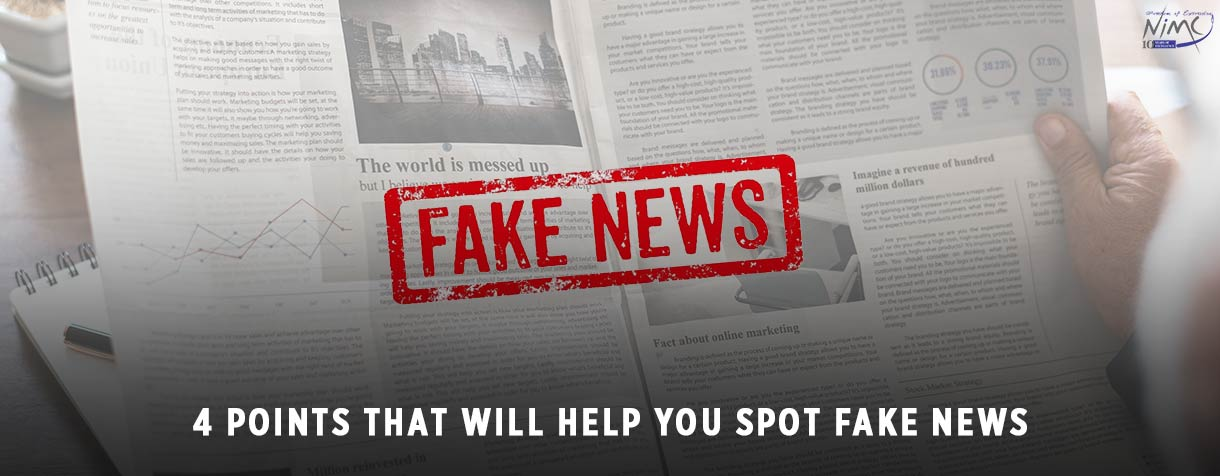 4 Points That Will Help You Spot Fake News