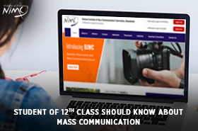 Student of 12th class should know about Mass Communication