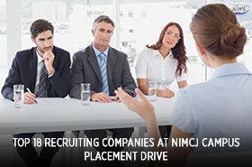 Top 18 Recruiting Companies at NIMCJ Campus Placement Drive